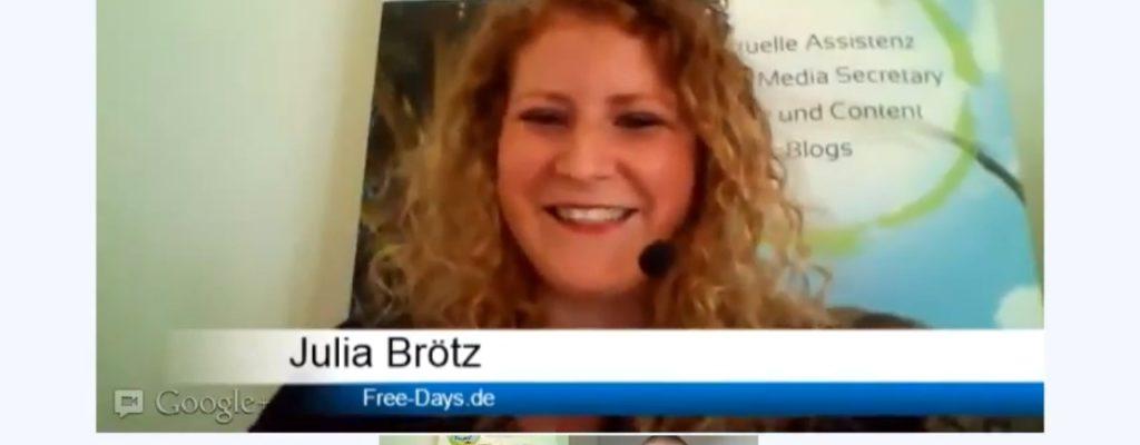 Julia Brötz: Zeit für's Wesentliche [Interview #036]