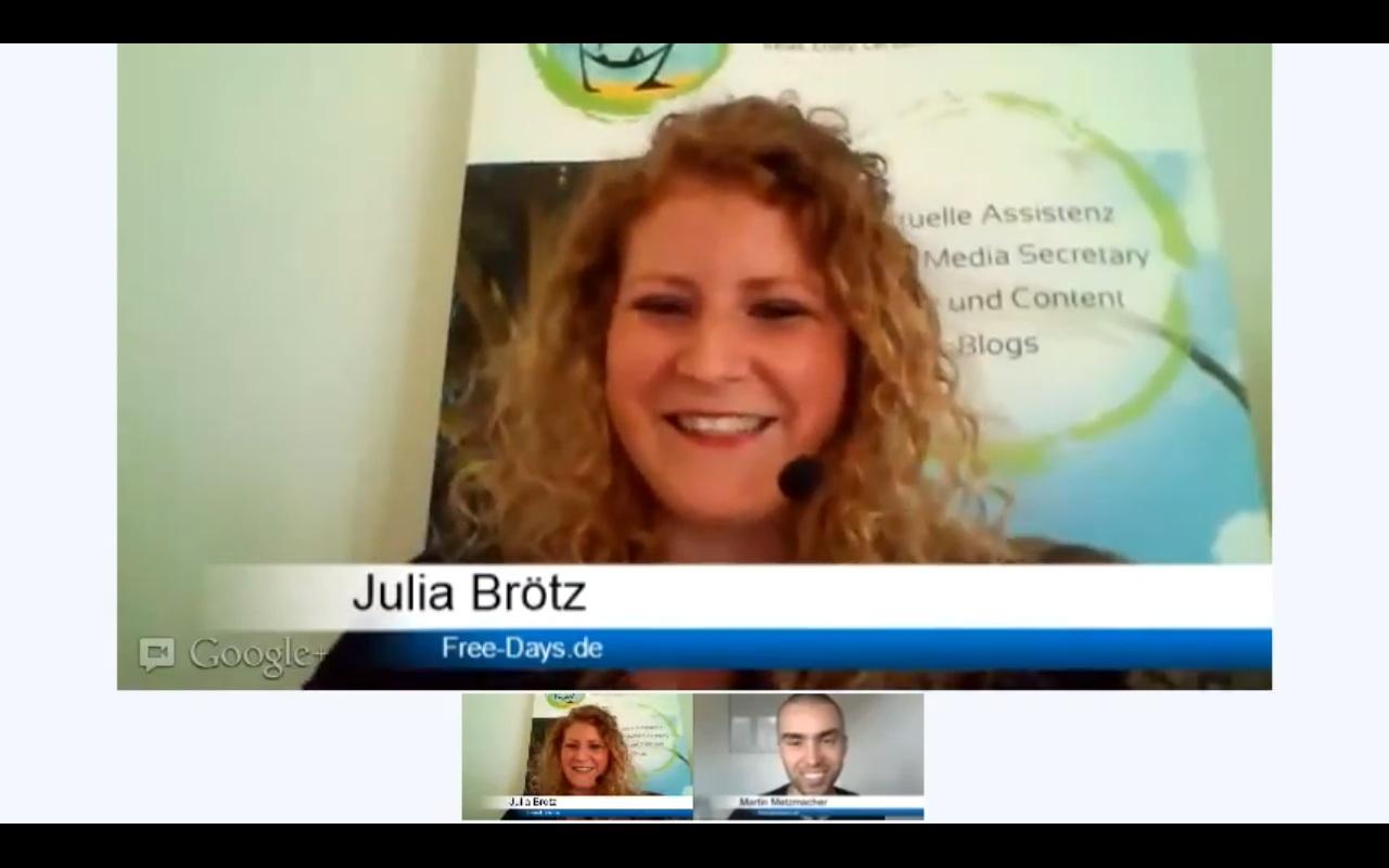 Netrepreneurs Interview mit Julia Brötz